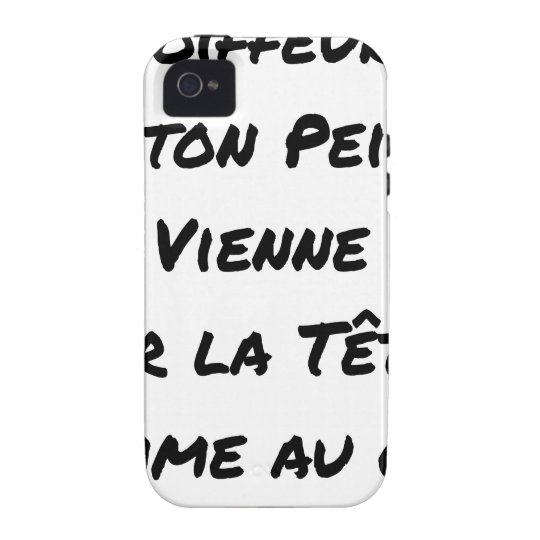 HAIRDRESSER, THAT YOUR VIENNA COMB ON THE HEAD VIBE iPhone 4 COVERS