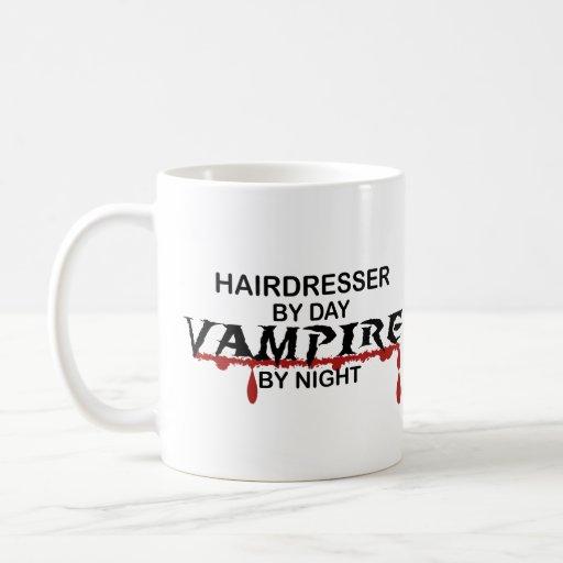 Hairdresser Vampire by Night Mug
