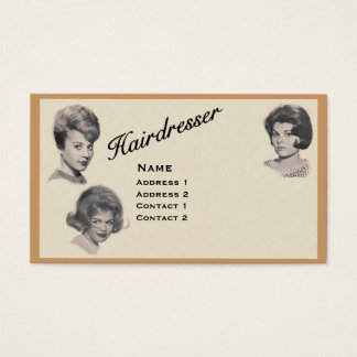HAIRDRESSER - VERY PROFESSIONAL PROFILE CARD 1