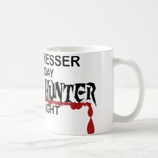 Hairdresser Zombie Hunter Coffee Mugs