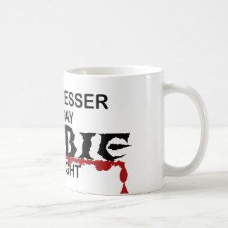 Hairdresser Zombie Classic White Coffee Mug