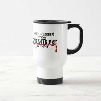 Hairdresser Zombie Travel Mug
