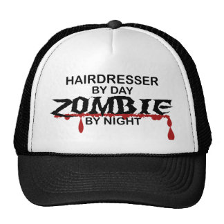 Hairdresser Zombie Trucker Hat