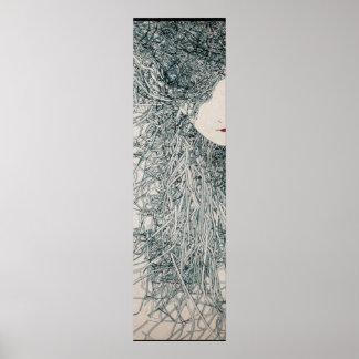 hairs print