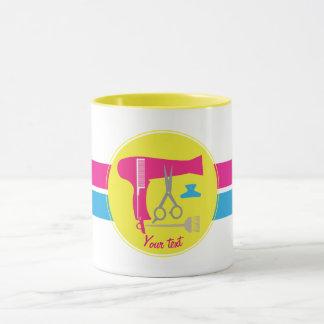 Hairstyle tools mug