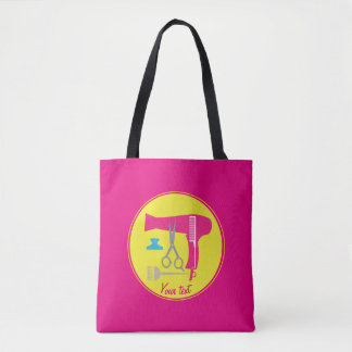 Hairstyle tools tote bag