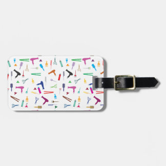 Hairstyles tools 2 luggage tag