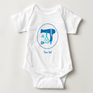 Hairstyles tools baby bodysuit