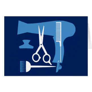 Hairstyles tools card
