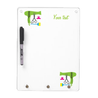 Hairstyles tools dry erase board