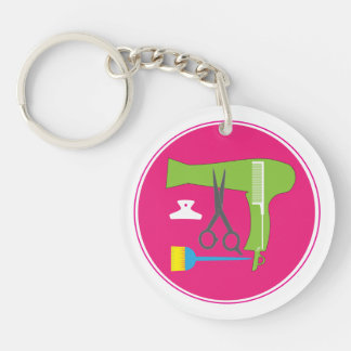 Hairstyles tools keychain