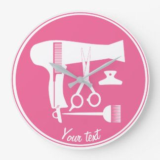 Hairstyles tools large clock