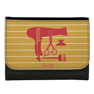 Hairstyles tools leather wallet
