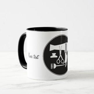 Hairstyles tools mug