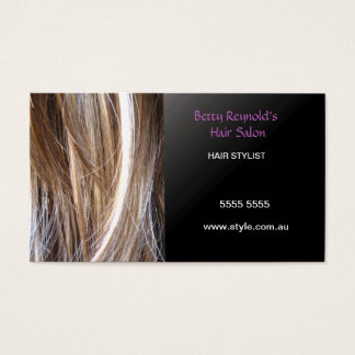 Hairstylist Business Card