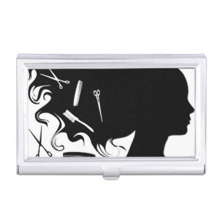 Hairstylist Business Card Case