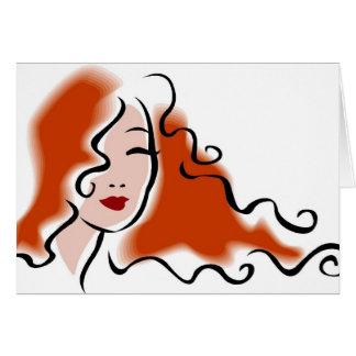 Hairstylist - Hairdresser Card