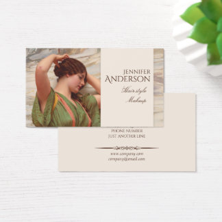 Hairstylist Hairdresser Makeup Beauty CC0017 Business Card