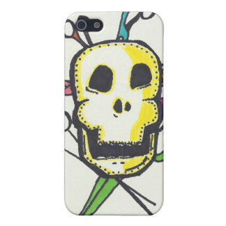 Hairstylist IPhone Case Skulls and Shears iPhone 5/5S Cover