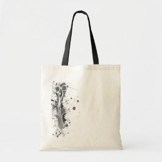 Hairstylist Scissors and Comb Splatter Tote Bag