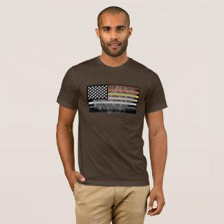Hairy Bear Flag T-Shirt