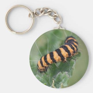 hairy caterpillar keychain