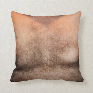 HAIRY CHEST PILLOW - YOU CAN CUSTOMIZE IT TOO!