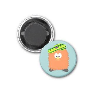 Hairy Haggis 1 Inch Round Magnet