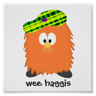 Hairy Haggis Poster