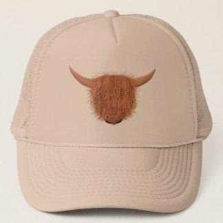 Hairy Highland Cow Trucker Hat