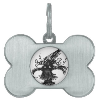 hairy thing pet name tag