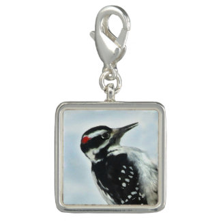 Hairy Woodpecker Charm