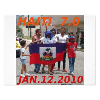 HAITI 7.0 PERSONALIZED INVITE