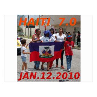 HAITI 7.0 POSTCARD