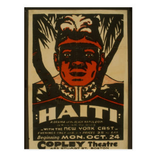 Haiti at the Copley Theatre, Postcard