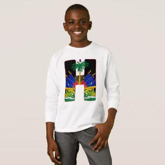 Haiti clip masked crest T-Shirt