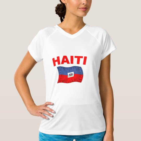 Haiti Earthquake Flag Design T-Shirt
