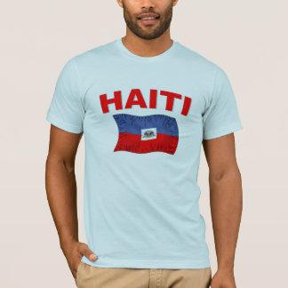 Haiti Earthquake Flag Design T-Shirt