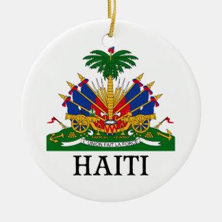 HAITI - emblem/coat of arms/flag/symbol Ceramic Ornament