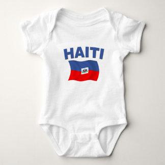 Haiti Flag 1 Baby Bodysuit