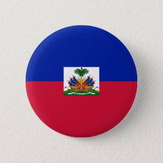 Haiti Flag 2 Inch Round Button
