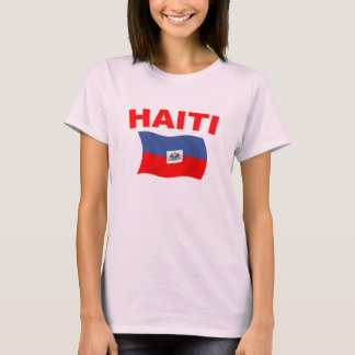 Haiti Flag 3 T-Shirt