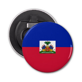 Haiti Flag Bottle Opener