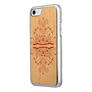 Haiti Flag Carved iPhone 7 Case