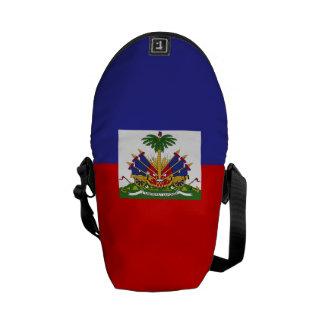 Haiti Flag Courier Bags