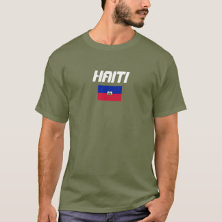 Haiti Flag Custom Shirt