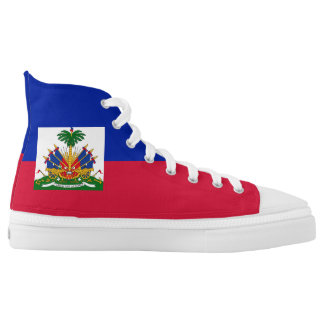 Haiti Flag High Tops