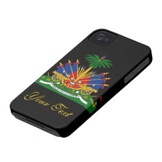 Haiti Flag iPhone 4 Case-Mate Case