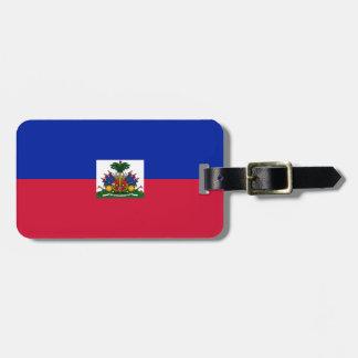 Haiti Flag Luggage Tag