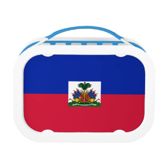 Haiti Flag Lunch Box